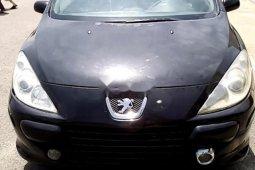 Nigeria Used Peugeot 307 2007 Model Black