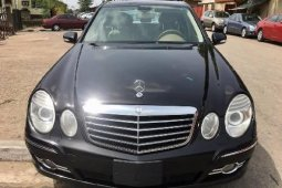 Tokunbo Mercedes-Benz C350 2008 Model Black