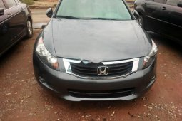Tokunbo Honda Accord 2010 Model Grey