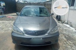 Nigeria Used Toyota Camry 2006 Model Gray