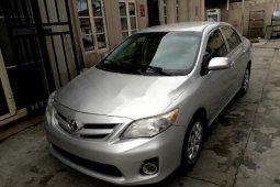 Neat Nigerian used 2011 Toyota Corolla