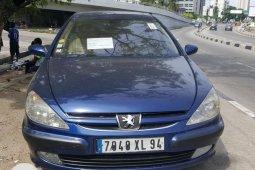 Tokunbo Peugeot 607 Automatic 2004 Model Blue