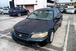 Super Clean Nigerian used 2001 Honda Accord