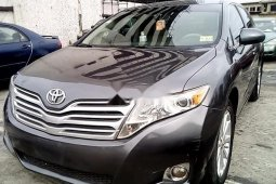 Nigeria Used Toyota Venza 2010 Model Grey