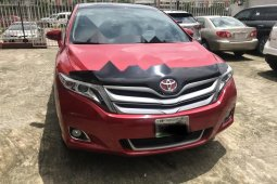 Nigeria Used Toyota Venza 2014 Model Red