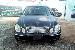 Properly maintained Nigerian used Mercedes-Benz E350 2006