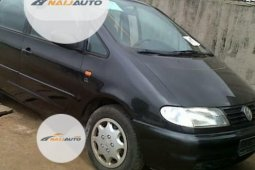 Foreign Used Volkswagen Sharan 1999 Model Black