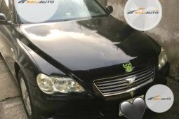 Nigeria Used Toyota Mark X 2005 Model Black