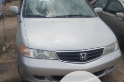 Foreign Used Honda Odyssey 2004 2004 Model Silver