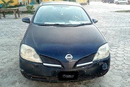 Properly maintained Nigerian used Nissan Primera 2002
