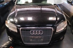 Foreign Used Audi A4 2006 Model Black