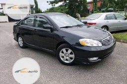 Tokunbo Toyota Corolla 2008 Model Black