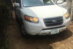 Nigeria Used Hyundai Santa Fe 2008 Model White