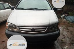 Foreign Used Toyota Sienna 2002 Model Silver