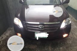 Nigeria Used Toyota Avalon 2007 Model Red