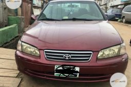 Nigerian used Toyota Camry 2001 Red