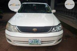 Nigeria Used Toyota Avalon 2002 Model White