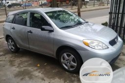 Foreign Used Toyota Matrix 2002 Model Silver