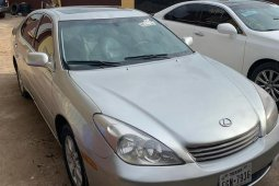 Foreign Used Lexus ES 2002 Silver