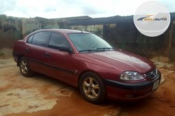 Very Clean Nigerian used Avensis 2003 2.0 Sedan