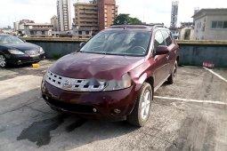 Very Clean Nigerian used Nissan Murano 2005