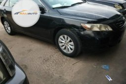 Clean Foreign used Toyota Camry 2008 Black