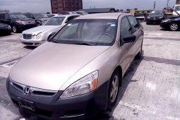 Clean Nigerian used 2007 Honda Accord
