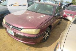 Nigeria Used Peugeot 406 2000 Model Brown