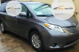 Very Clean Foreign used Toyota Sienna 2011 XLE 8 Passenger Gray
