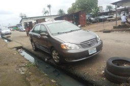 Very Clean Nigerian used Toyota Corolla 2003 Gray