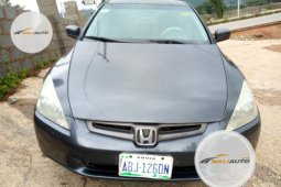 Foreign Used Honda Accord 2004 Model Grey