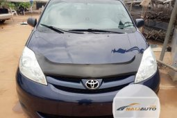 Foreign Used Toyota Sienna 2006 Blue