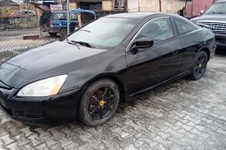Properly maintained Nigerian used Honda Accord