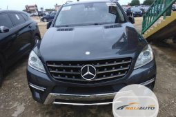 Foreign Used Mercedes-Benz M Class 2013 Model Grey