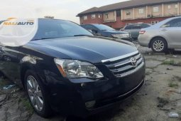 Foreign Used Toyota Avalon 2008 Black
