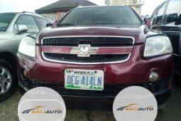 Nigeria Used Chevrolet Captiva 2009 Model Red