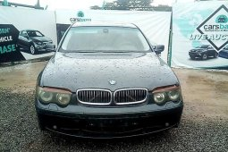 Affordable & well maintained Nigerian used 2002 BMW 7 Series