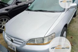 Nigeria Used Honda Accord 1999 LX Silver