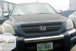 Nigeria Used Honda Pilot 2005 Model Grey