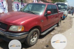 Nigeria Used Ford F-150 2004 SVT Lightning Pickup Red