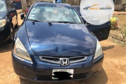 Nigeria Used Honda Accord 2003 Automatic Blue