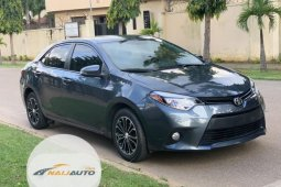 Foreign Used Toyota Corolla 2014 Model Grey