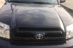 Nigeria Used Toyota 4-Runner 2005 Black