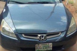 Nigeria Used Honda Accord 2003 Model Blue