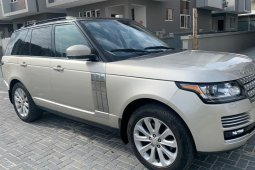 Nigerian Used 2014 Land Rover Range Rover Vogue Petrol