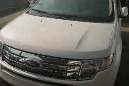 Foreign Used Ford Edge 2008 ,Model White