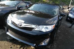 Foreign Used Toyota Camry 2013 Model Black