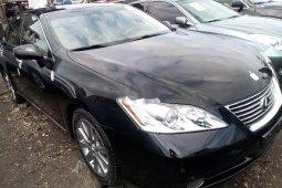 Tokunbo Lexus ES 2008 Petrol 2008 Model Black