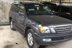 Foreign used Lexus LX 2005