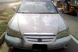 Nigeria Used Honda Accord 2003 Model Silver